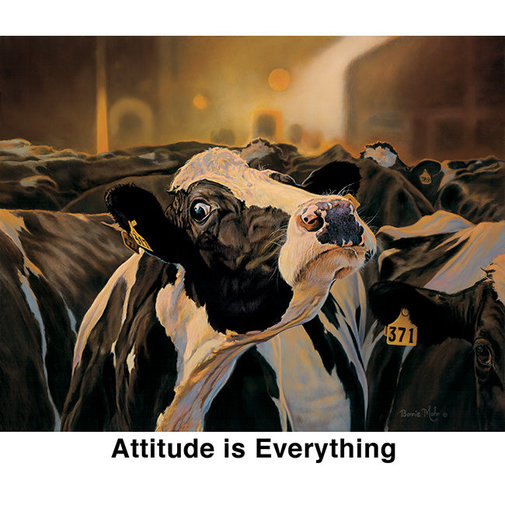 View larger image of Bonnie Mohr Attitude is Everything Notecards