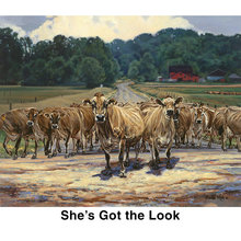 Bonnie Mohr She's Got the Look Notecards
