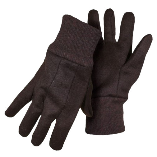 View larger image of BOSS Heavyweight Brown Jersey Gloves