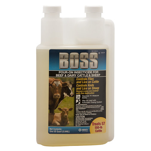 View larger image of Boss Pour-On Insecticide for Cattle and Sheep