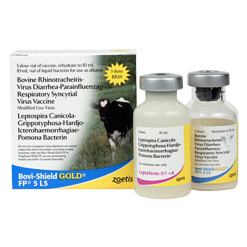 View larger image of Bovi-Shield GOLD FP 5 L5 Cattle Vaccine