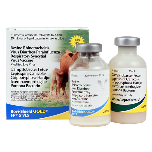 View larger image of Bovi-Shield GOLD FP 5 VL5 Cattle Vaccine