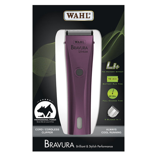 View larger image of Bravura Lithium Cord/Cordless Clipper
