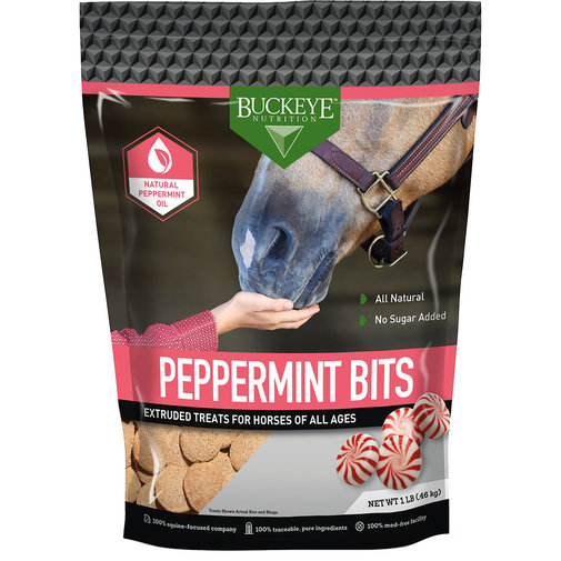View larger image of Buckeye Nutrition Peppermint Bits Treats