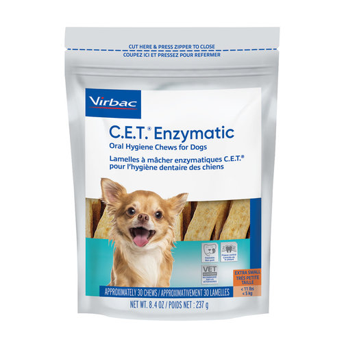 View larger image of C.E.T. Enzymatic Oral Hygiene Chews for Dogs