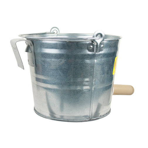 View larger image of Calf-Teria Galvanized Pail Complete