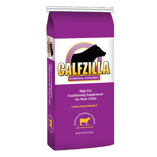 View larger image of Calfzilla High-Fat Conditioning Supplement for Show Cattle