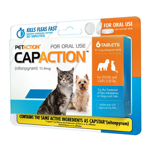 View larger image of CapAction Flea Protection for Cats