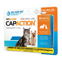 CapAction Flea Protection for Cats