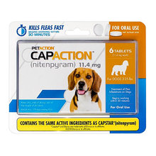 CapAction Flea Protection for Dogs