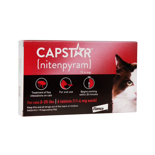 View larger image of Capstar Flea Treatment for Cats