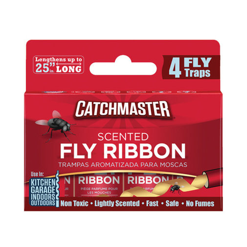 View larger image of Catchmaster Scented Bug and Fly Ribbon