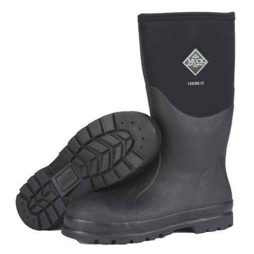 View larger image of Chore Hi-Cut Steel Toe Boots for Men and Women