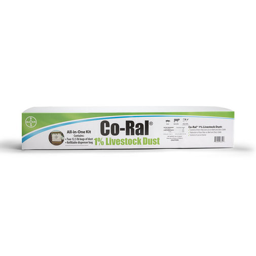 View larger image of Co-Ral 1% Livestock Dust Kit