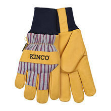 Cold Weather Work Gloves Knit Wrist