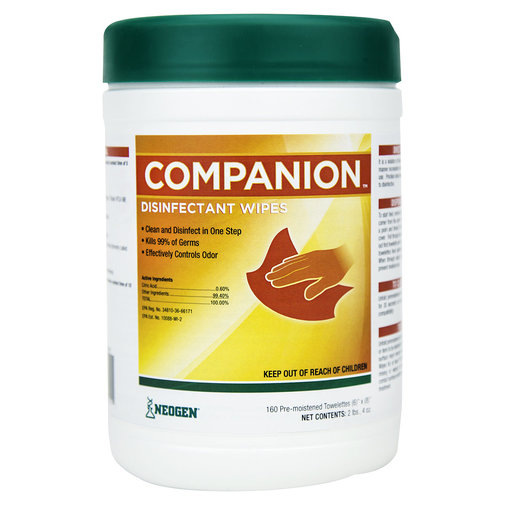 View larger image of Companion Disinfectant Wipes