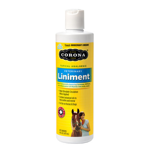 View larger image of Corona Veterinary Liniment for Horses & Dogs