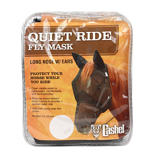 View larger image of Crusader Quiet-Ride Fly Mask for Horses