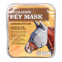 Crusader Standard Nose Pasture Fly Mask with Ears