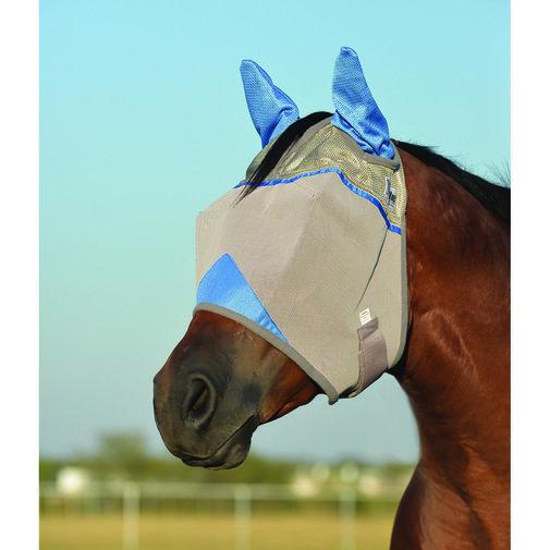 View larger image of Crusader Standard Nose Pasture Fly Mask with Ears