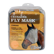 Crusader Standard Nose Pasture Fly Mask without Ears