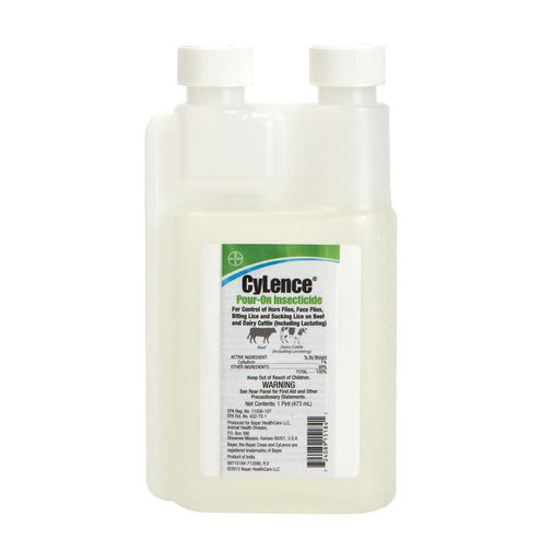 View larger image of CyLence Pour-On Insecticide