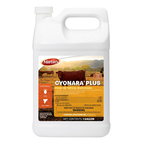View larger image of Cyonara Plus Pour-On Topical Insecticide for Cattle