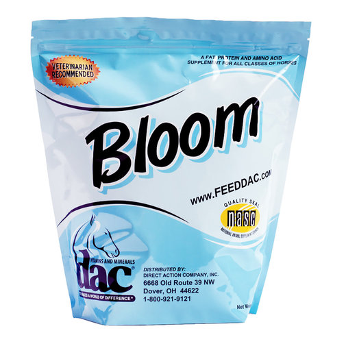 View larger image of dac Bloom Coat, Skin and Weight Gain Horse Supplement