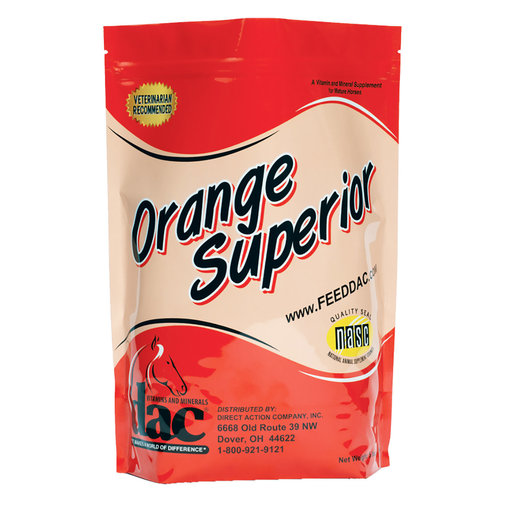 View larger image of dac Orange Superior Vitamin and Mineral Supplement for Horses
