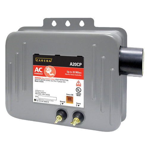 View larger image of Deluxe 20 Mile AC Solid State Fence Charger With Circuit Pak