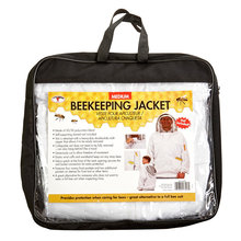 Deluxe Beekeeping Jacket with Domed Veil