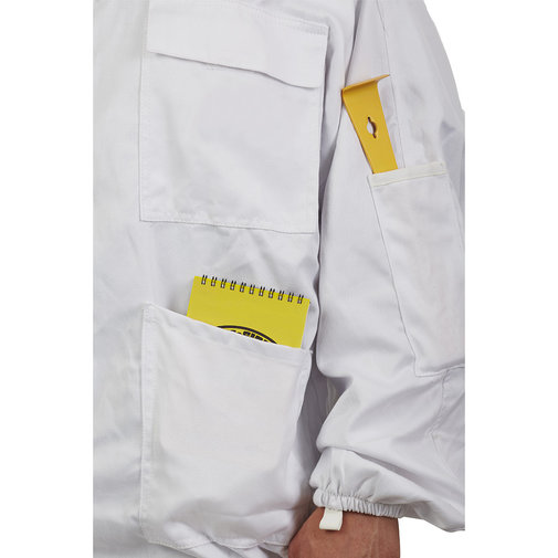 View larger image of Deluxe Beekeeping Jacket with Domed Veil