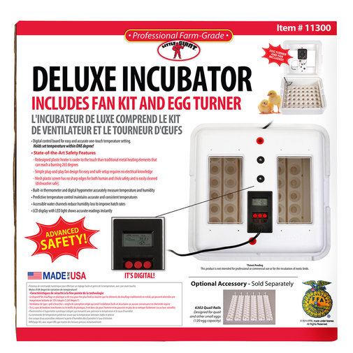 View larger image of Deluxe Incubator with Egg Turner