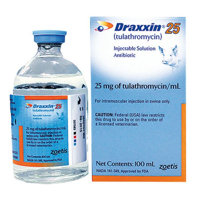 Draxxin 25 Injectable Rx - PBS Animal Health