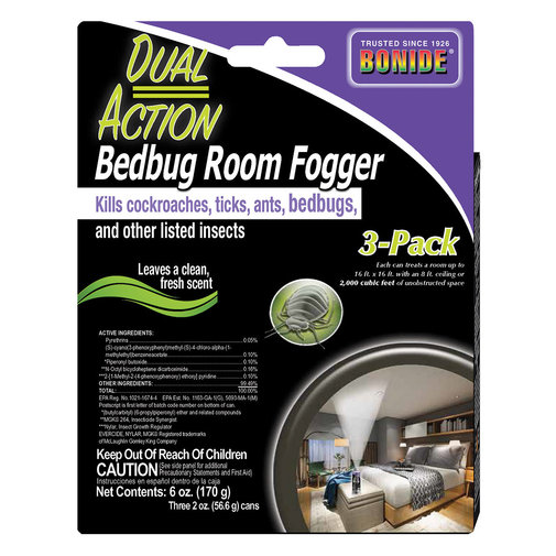 View larger image of Dual Action Bedbug Room Fogger