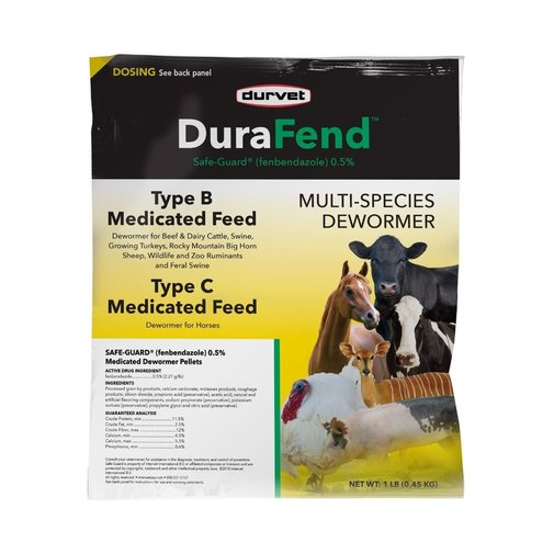 View larger image of DuraFend Multi-Species Type B & C Medicated Dewormer