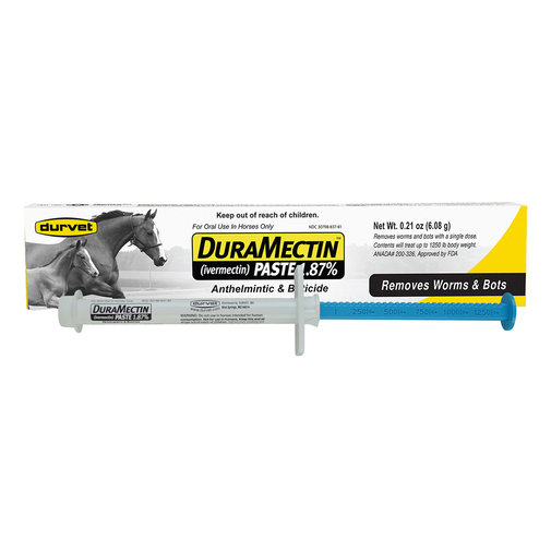 View larger image of DuraMectin Horse Dewormer Paste