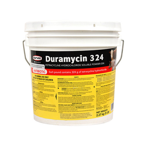 View larger image of Duramycin 324 Soluble Powder Rx