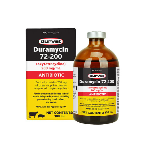 View larger image of Duramycin 72-200 Injectable Antibiotic for Cattle and Swine