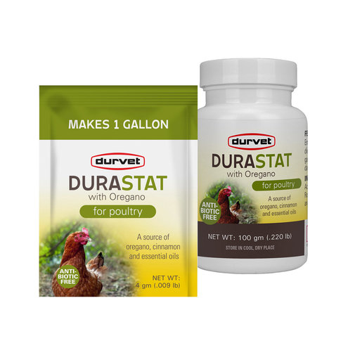 View larger image of DuraStat with Oregano Poultry Supplement
