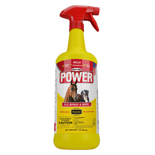 View larger image of Durvet POWER Fly Spray & Wipe
