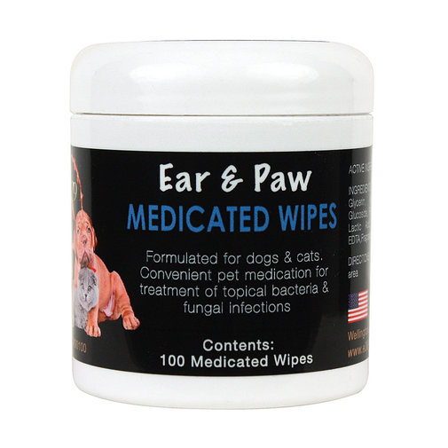 View larger image of E3 K9 Ear & Paw Medicated Wipes
