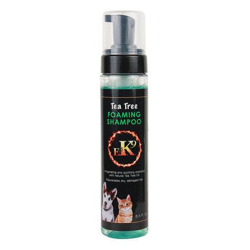 View larger image of E3 K9 Tea Tree Foaming Shampoo