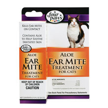 Aloe Ear Mite Treatment for Cats