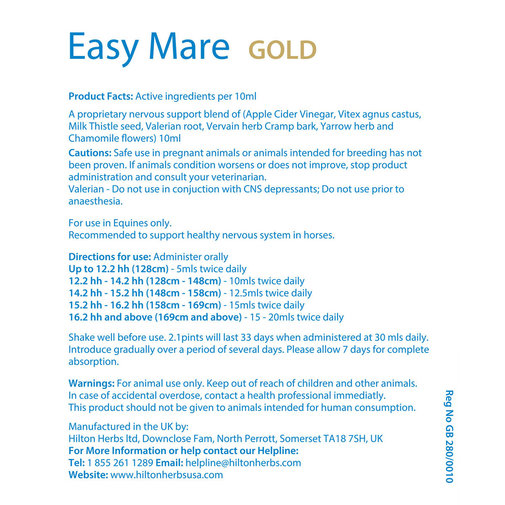 View larger image of Easy Mare GOLD Horse Supplement