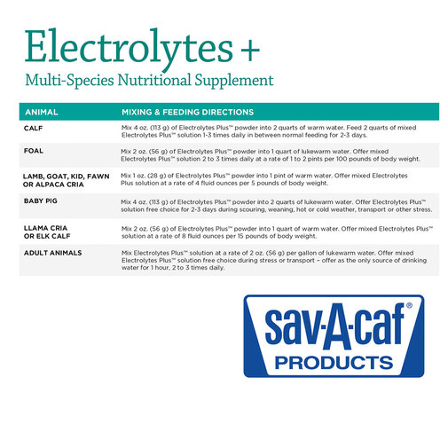 View larger image of Electrolytes +