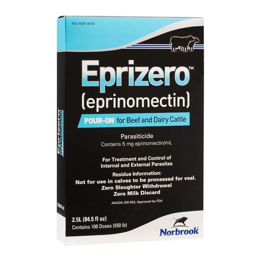 View larger image of Eprizero Pour-On for Beef and Dairy Cattle