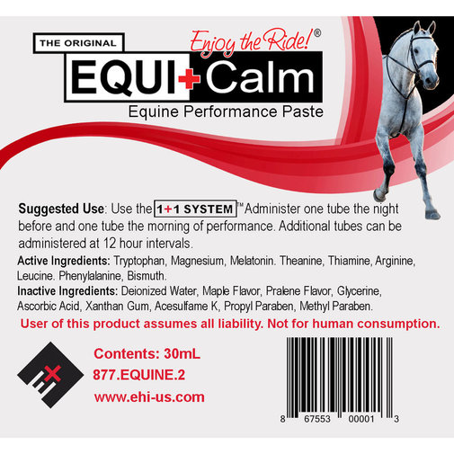 View larger image of Equi+Calm Equine Performance Paste