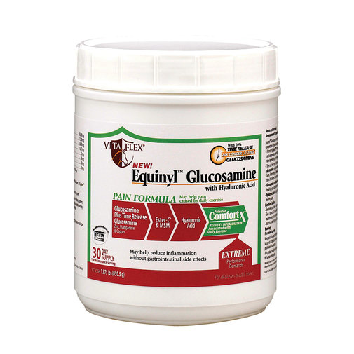 View larger image of Equinyl Glucosamine w/HA Horse Supplement