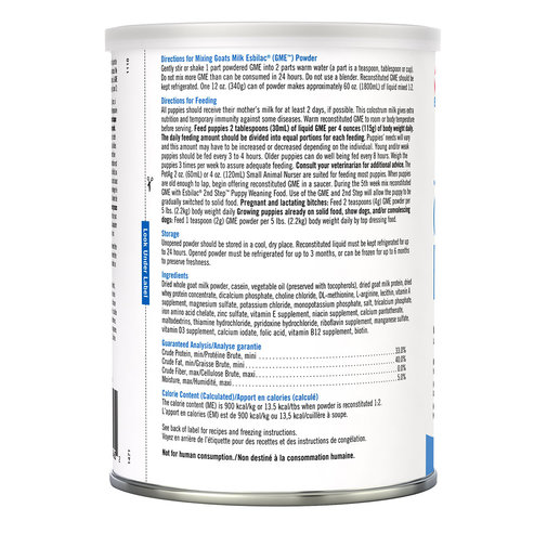 View larger image of Esbilac Goats Milk Powder for Puppies